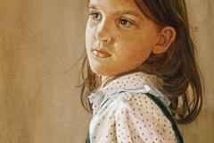 Girl in Polkadots